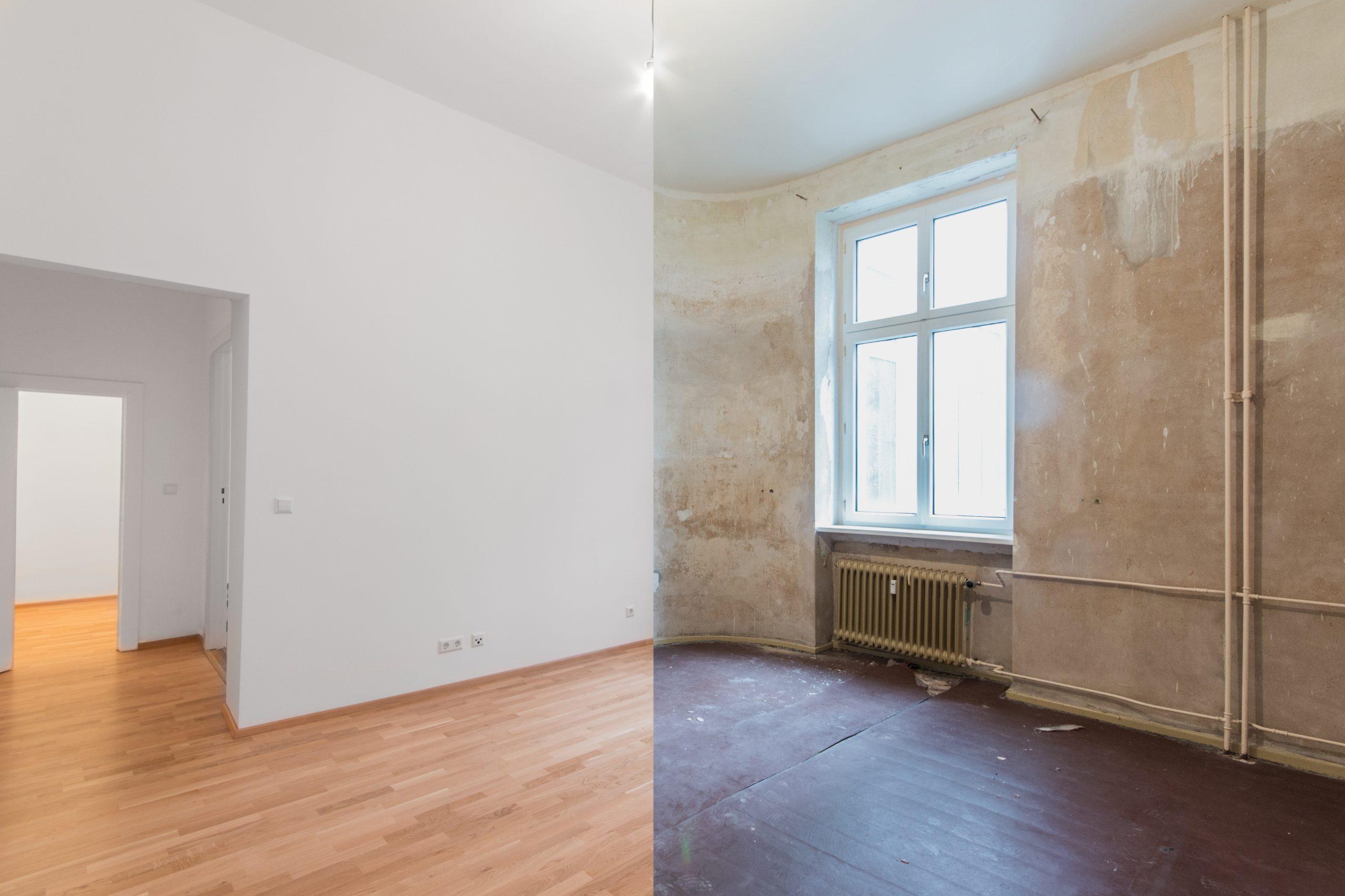 Rénovation salle